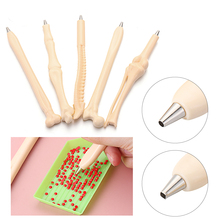 Drill-Pen Sewing-Accessories Embroidery Diamond-Painting-Point Bone-Shape Square/round-Head