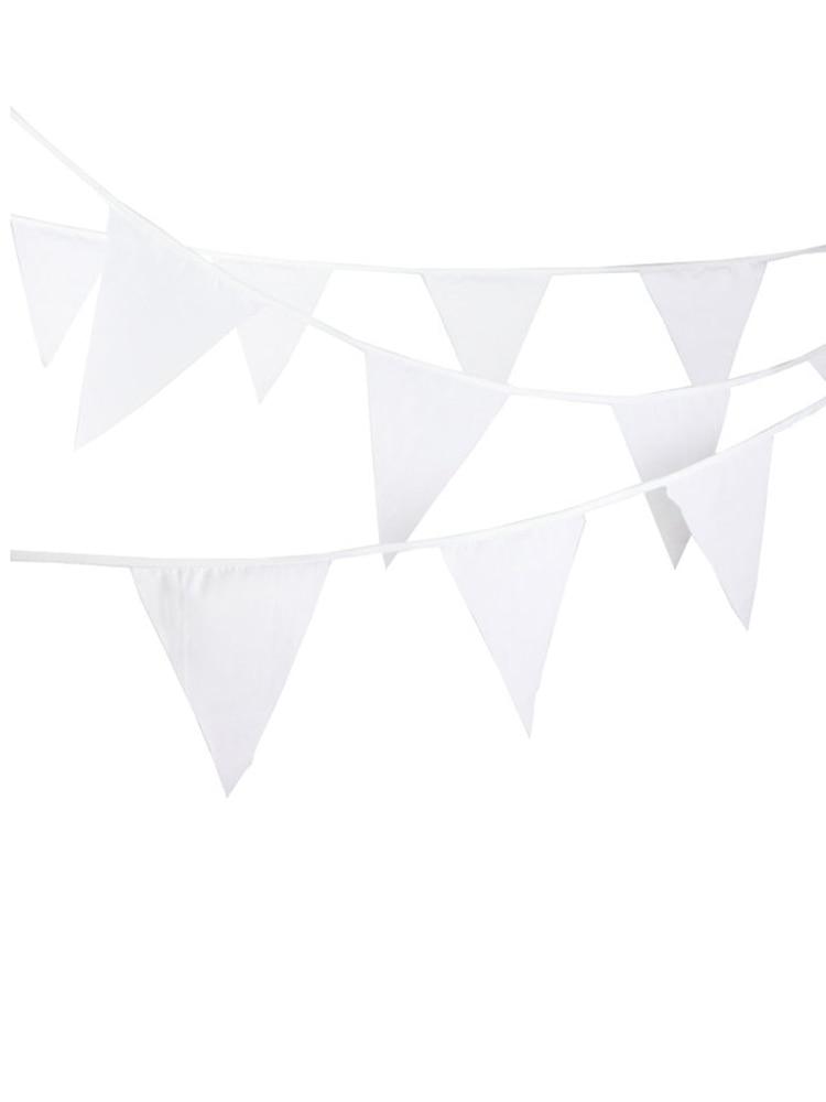 Белые гирлянды с 20 флагами, 8 м, баннеры для свадебного декора, шелковые баннеры для свадебной вечеринки, баннеры для свадебных торжеств и ду...