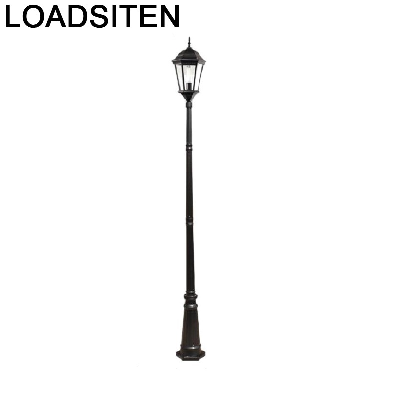 Lampione Giardino Lampioni Da Esterno Iluminador Jardin Luminaire Exterieur Plaza Lamp Uliczna Led Off Street Road Light Street Lights     - title=