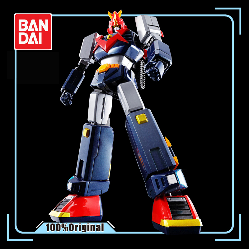 BANDAI SOUL OF CHOGOKIN GX-79 Super Electromagnetic Machine Voltes V 18cm HAOH Action Figures Model Modificatie Vervormbare