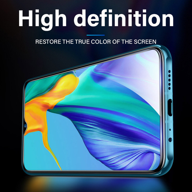 3pcs Full Cover Screen Protector Tempered Glass For Huawei Honor 10i 20 Pro 8X 9X 8A 9A 10X 9 8 10 lite tective Clear Glass Film 4