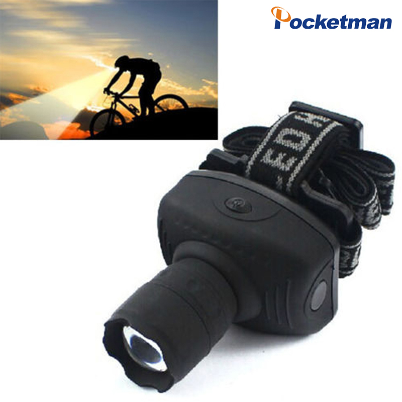 Brightest LED Headlamp Zoomable Headlight Frontal Head Torch Powerful Head Light Use AAA Battery For Camping Hiking