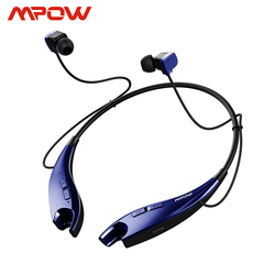 Mpow Jaws 4th Generation headphone Wireless Bluetooth 4.1 Stereo Crystal Sound Light Necklace Handsfree call Headphone Headset