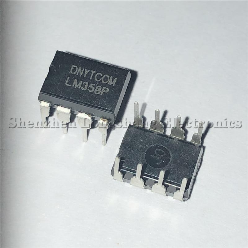 20 шт./лот LM358N LM358P LM358 DIP-8 двойной чип op amp