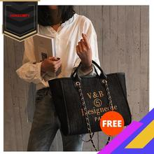 2020 New Style Denim Handbag Fashion Bag Chain Shoulder