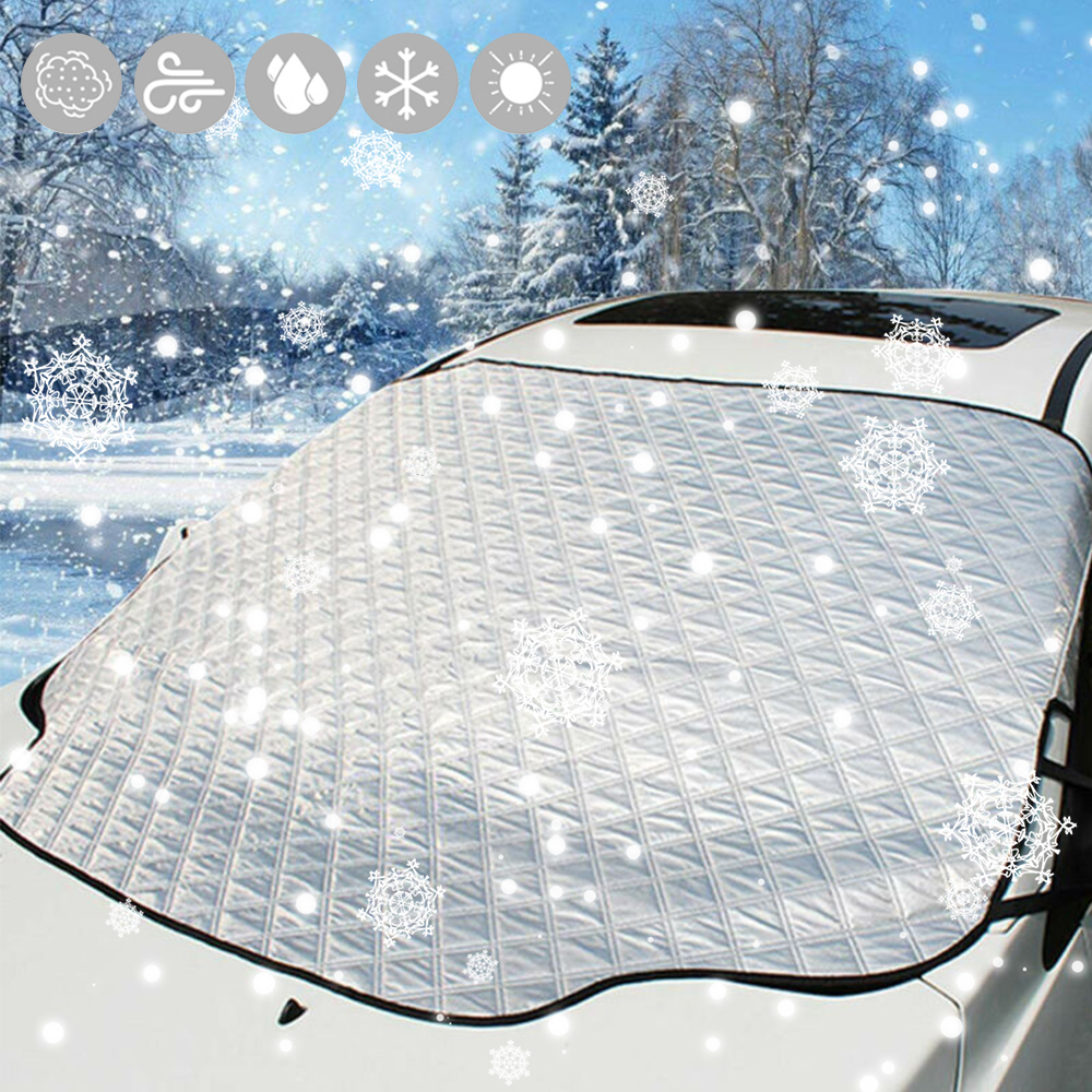 Car Protector Cover Screen Windscreen Window Ice Snow For FIAT PANDA 12-ON
