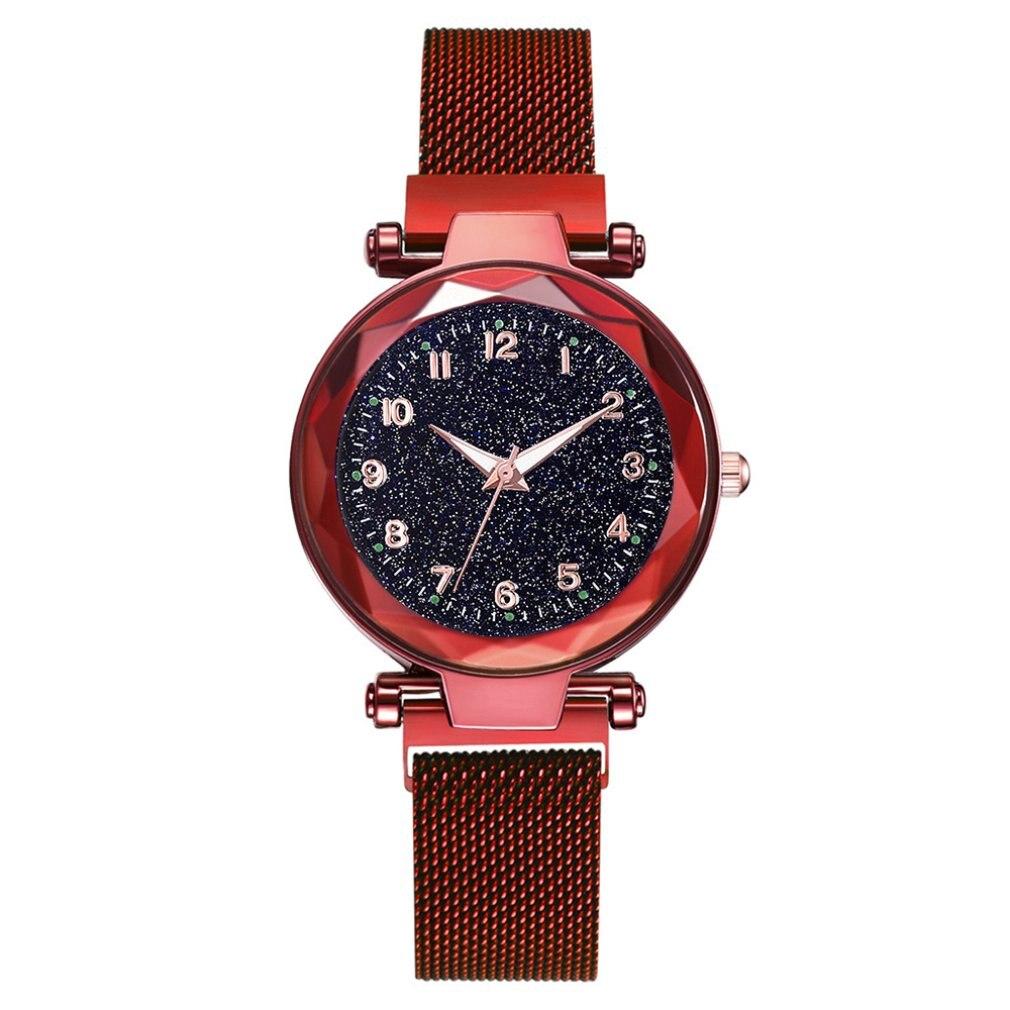 Luxury Women Watches Magnetic Starry Sky Female Clock Quartz Wristwatch Fashion Ladies Dress Watch Reloj Mujer Relogio Feminino