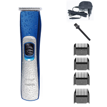 Waterproof Hair Trimmer Salon Professional Electric Clipper Razor Adult Children Chargeable Cutting Machine
