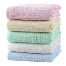Dicken Baby Bad Handtücher Kinder Gaze Blase Bad Handtücher Neugeborenen Baumwolle Super Weiche Swaddle Musselin Wraps Windel Decken 6 Schicht