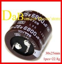 25v 6800uf +/- 20% Capacité 100% NIPPON CCN Original Nouveau CHEMI-CON LXG Condensateurs Audio Condensateur Électrolytique Radial 30x25mm