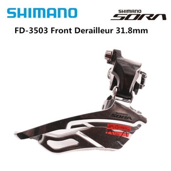 SHIMANO SORA 3503 Road Bike Bicycle Front Derailleur Folding Car FD-3503 Bike Parts Switch 3X9 Speed Original Derailleur 31.8mm