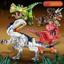 2205 строительные блоки Юрского периода t rex dilophosaurus