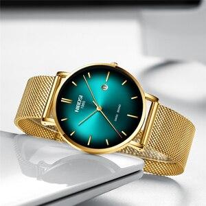 Image 3 - NIBOSI reloj para hombre, cronógrafo Masculino, Simple, creativo, resistente al agua, informal, sin definición