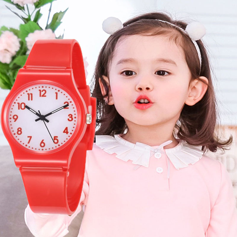 Kids Watches Girls Cartoon Children Watch With Free Shipping Quartz Small Dial Cute Clock Relogio Infantil In Children's Watches