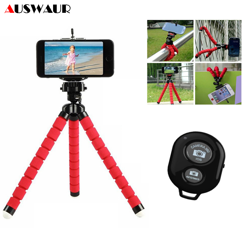 Octopus Flexible Tripod Mobile Phone Holder Bracket For IPhone IPad Camera Monopod Selfie Support Mobile Phone Holder Stand