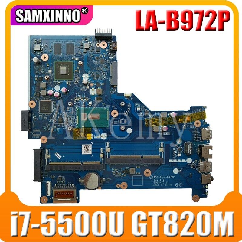 LA-B972P Motherboard For HP 15-R LA-B972P Laptop Motherboard 795814-001 795814-501 I7-5500U CPU Original Tested 100%