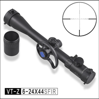 Discovery Optical VT Z 6 24X44SFIR Hunting Side Focus Rifle scope Aimed Side Wheel with Airsoft Gun