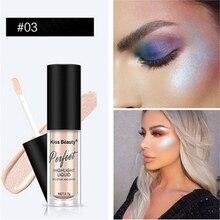 Facial high gloss waterproof liquid highlighter long bright moisturizing makeup bronze contour brightener