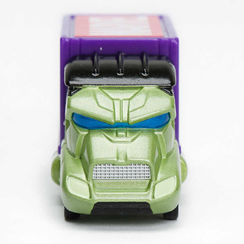 TAKARA TOMY Tomica Dreamstar Logam Diecast Marvel T.u.n.e. Bertopeng Membawa Hulk Truk EVO. 5.0 Mainan Anak-anak Model Mobil 973225
