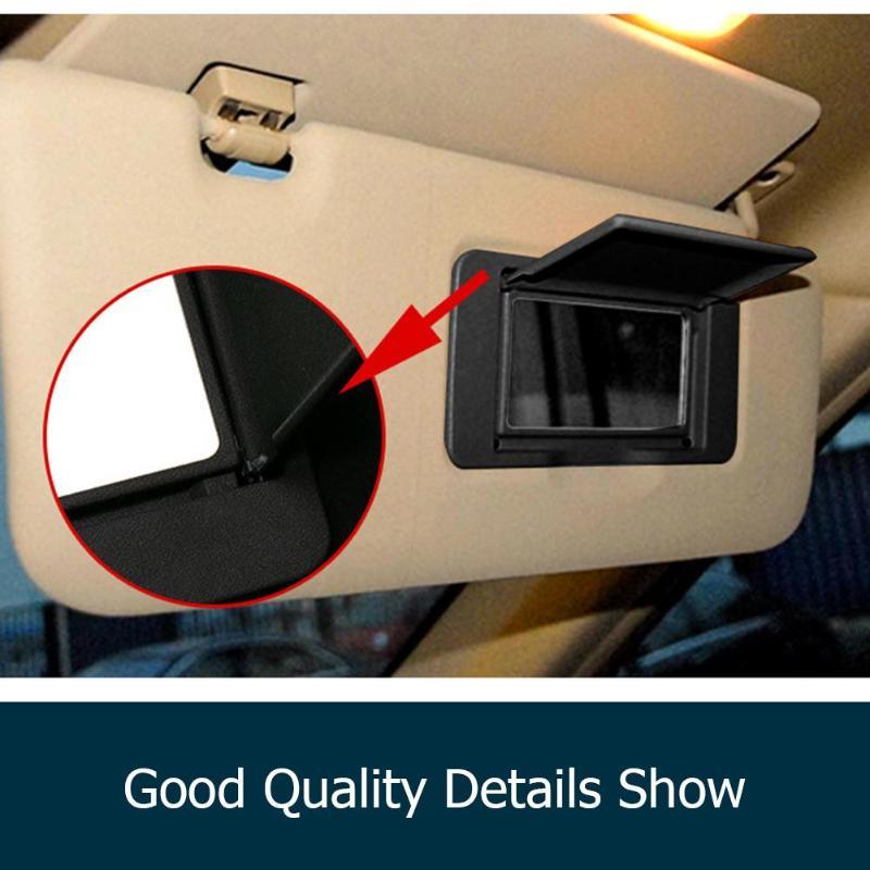 VODOOL автомобиль Левая Правая сторона солнцезащитный козырек косметическое зеркало для макияжа Зеркало для салона Mercedes Benz ML/GL/R Класс W164 W251
