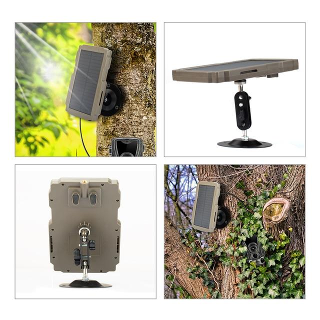5000mA  12V Hunting Camera Solar Panel  Power Supply Charger Battery for Suntek 9V  HC900 HC801 HC700 HC550 HC300 Series 2