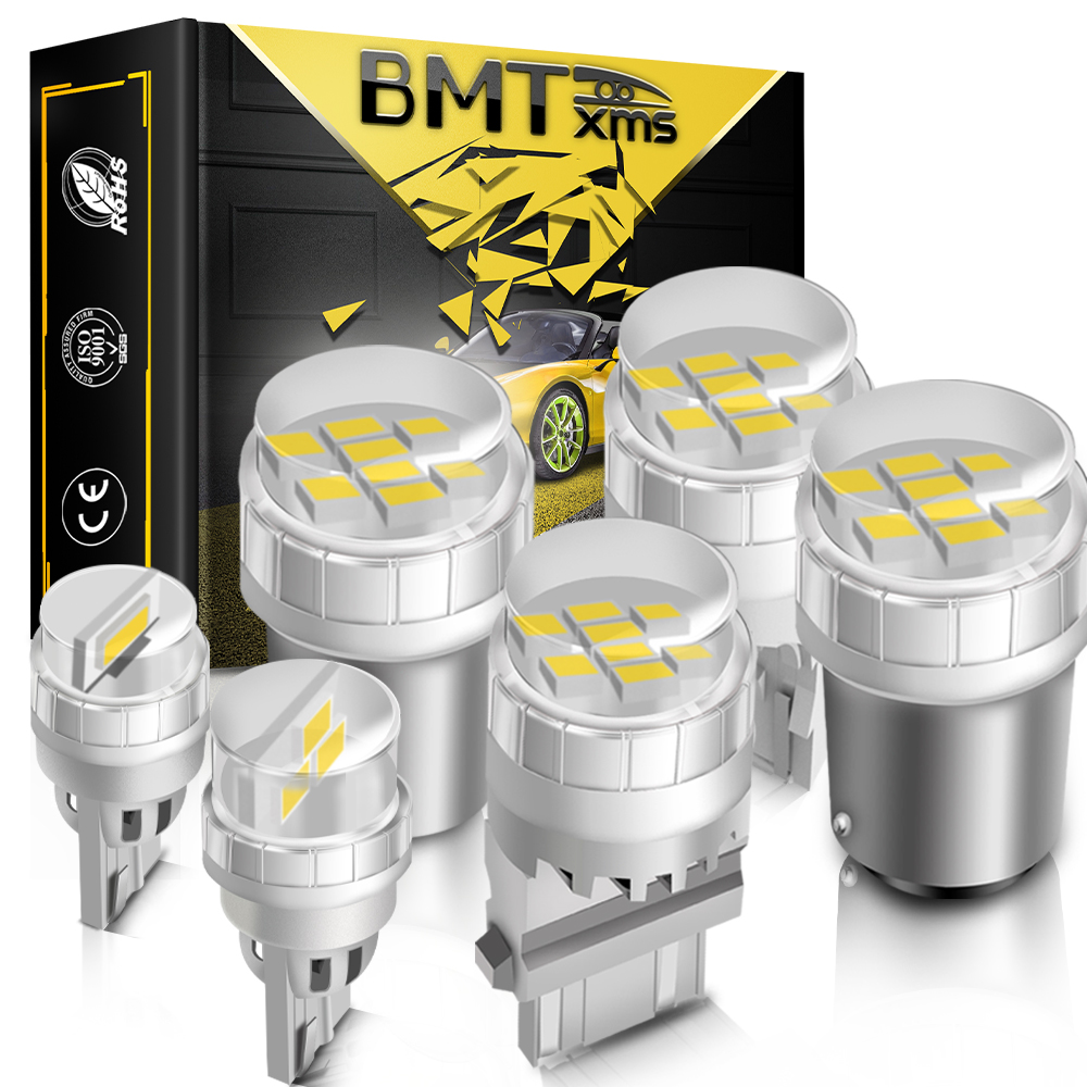 BMTxms 1Pcs 1156 P21W BA15S 1157 BAY15D T20 LED W21/5W 7443 W21W Auto Blinker Licht reverse Birne Parkplatz Lampe Canbus Kein Fehler