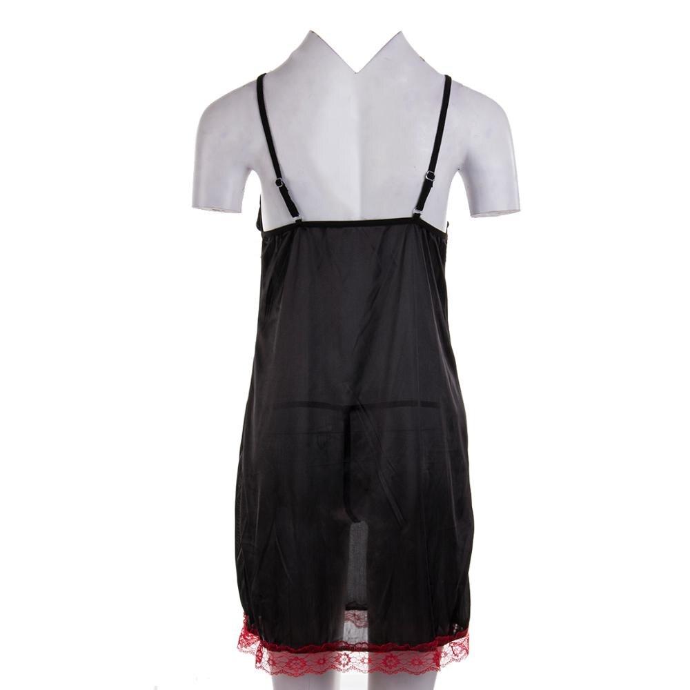 Women Nightgown Sleepwear Sexy Nightie Slip Dress Lingerie Nightdress Dress Plus Size Women Summer Dress Female Hot Erotic