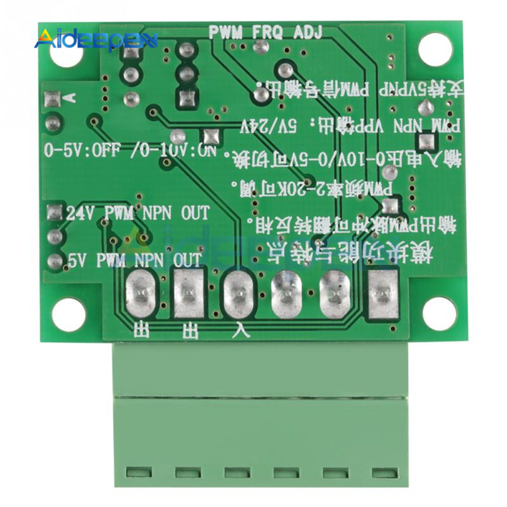 Voltage Frequency Converter Module 0-10V to 0-4KHz 30MA Control Panel PLC