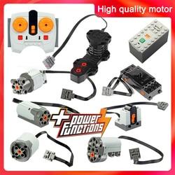 Технические детали, совместимые с LegoINGlys, многофункциональные силовые функции, инструмент, сервоблоки, двигатель поезда xl, двигатель PF, моде...
