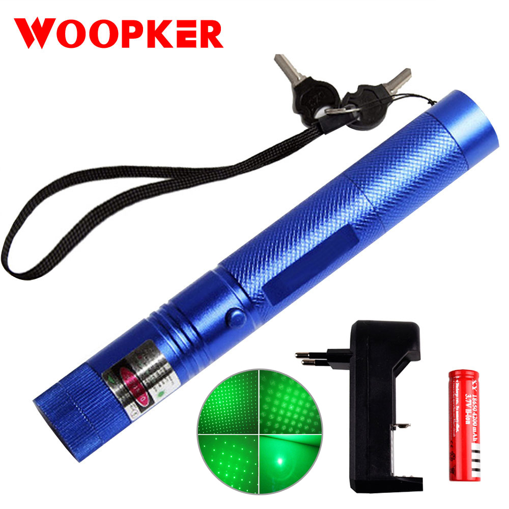 Powerful Laser Pointer Scope Laser 303 Pen Adjustable Focus 10000m Green Lazer Sight For Burning Firecrackers And Matches