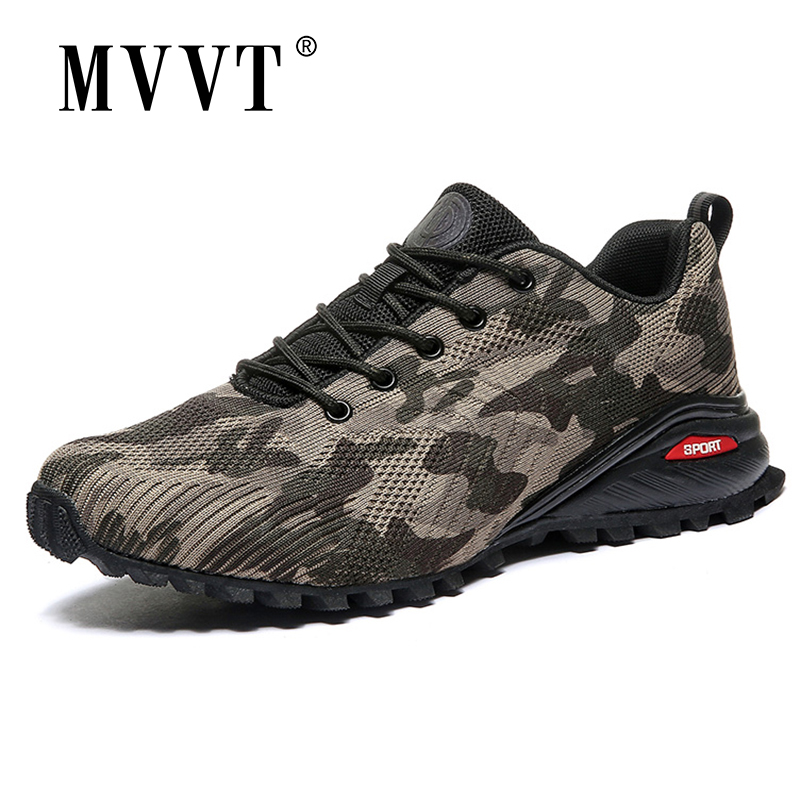 Spring Men Hiking Shoes Men Breathable Outdoor Sneakers Men Non-Slip Traveling Men Foot Wear