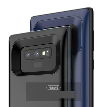 For Samsung Note 9 8 S9 S8 Plus  Battery Charger Case 5500mAh Shockproof Charging Phone Power Cover For Samsung Note 8 S8 Plus 6500mah ultra thin fast charger battery case for samsung note 8 external power bank case for samsung galaxy note 8 charging case