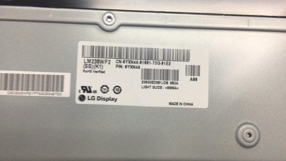LM238WF2 SSK1 OriginaL display LCD tela do monitor do painel