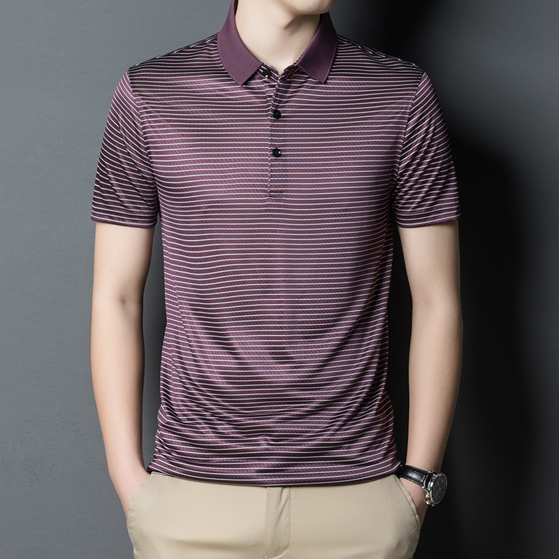 Top 10 Most Popular Ymwmhu Striped Polo List And Get Free Shipping A364