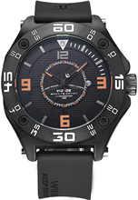 Best Price Mens Fashion Analog Calendar Black Silicone Strap Belt Military Army Quartz Movement Wristwatch Relogio Masculino