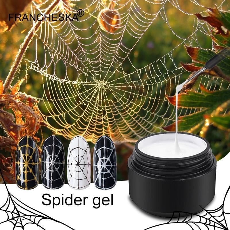 Gel Spider Line For Nails Art Gel Polish UV Colors Painting Gel Nail Polish Spider Gel Lacquer DIY nails Gel Polish Nail Brush