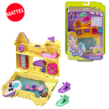 Polly Pocket Mini Girls Doll 10styles Hidden World Scene Girl House Dolls Original Toys for Children Mermaid Kids Toy Reborn
