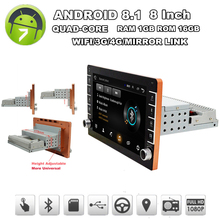 Mp5-Player Android Touch-Screen Gps Wifi Car 16GB 1din with Button-Knob 3G 4G Bt-Dab