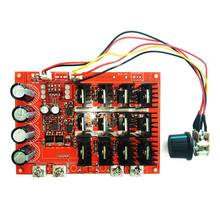 TOP!-10-50V 60A DC Motor Speed Control PWM HHO RC Controller 12V 24V 48V 3000W MAX(China)