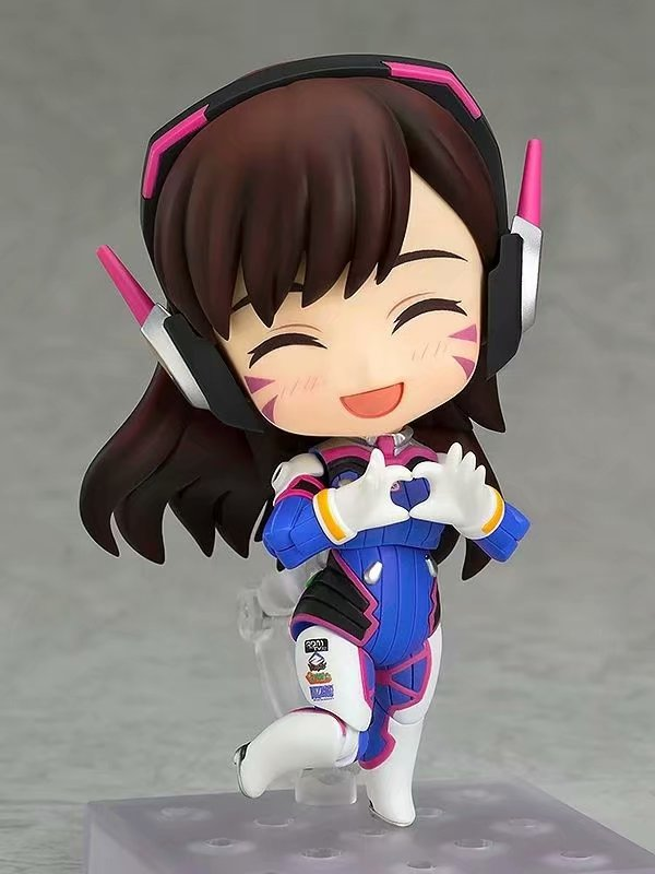 Overwatches D.Va 847 # Figures Song Hana Classic Skin Edition Changeable Face Doll Action Figures Collectable Model Toy Gifts 3
