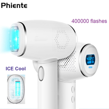 New IPL Epilator Permanent Hair Removal 400000 Flashes Ice Cool Laser Epilasyon depiladora facial Photoepilator Bikini Trimmer