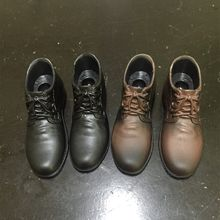 Maßstab 1:6 Männer Freizeit Leder Schuhe In-linie männliche Leder Schuhe Modell Figur Passen For12