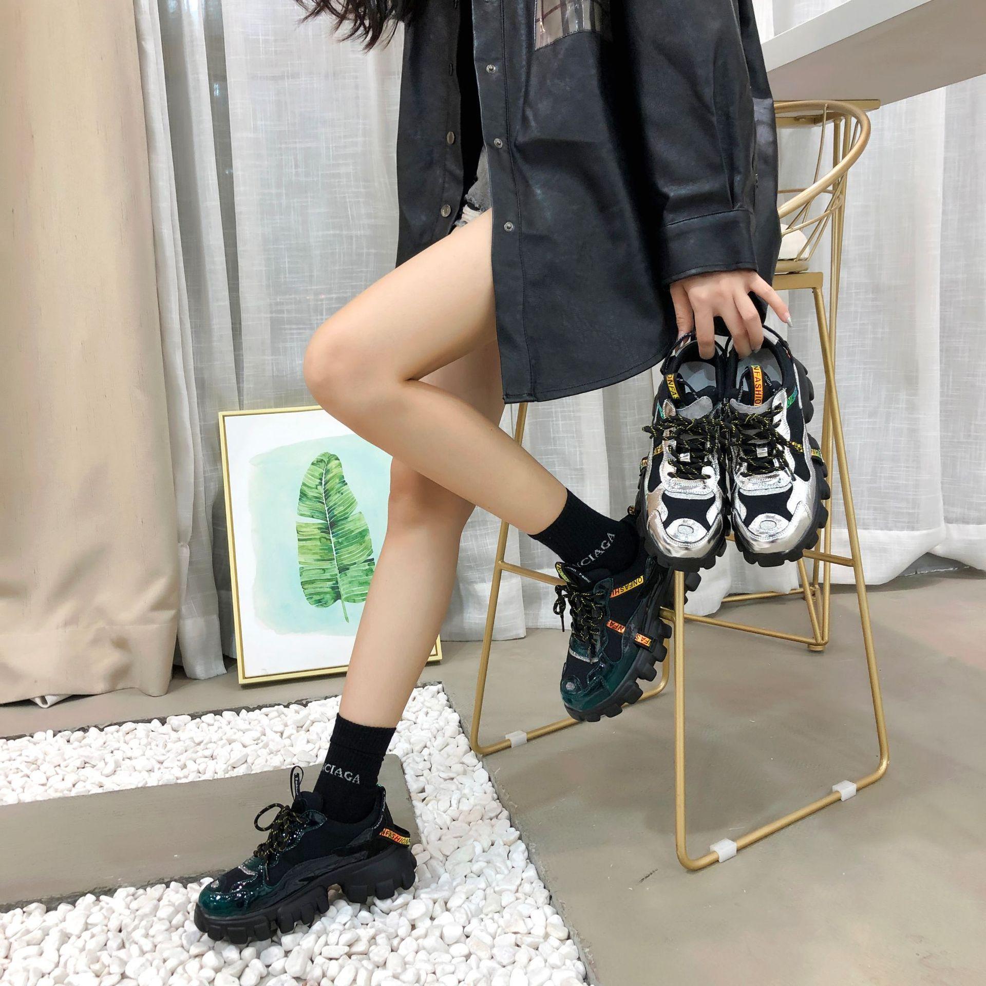 Women Autumn Chunky Sneakers 3