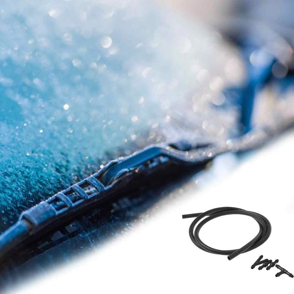 5 pcs/SetCar กระจกน้ำ Wiper Nozzle Mist เครื่องซักผ้าสเปรย์ท่อ Spout Joint รถอุปกรณ์เสริม