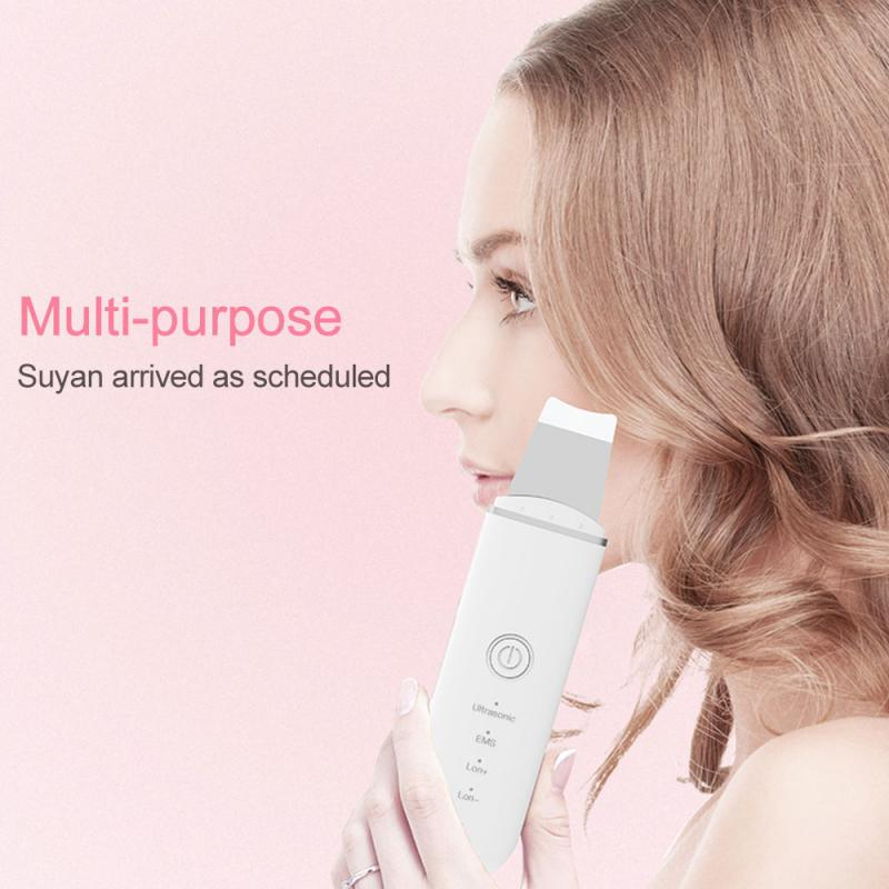 Multifunctional Vibrating Facial Cleansing Skin Ultrasonic Reduce Oil Cleansing Instrument Blackhead Beauty Instrument Device