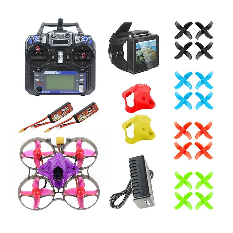 DIY FPV Racing Drone RC Quadcopter BNF mit Mobula7 V3 75MM Rahmen Crazybee F4 Pro V2.1 2 3S Flug Controller SE0802 Motoren Teil - 2