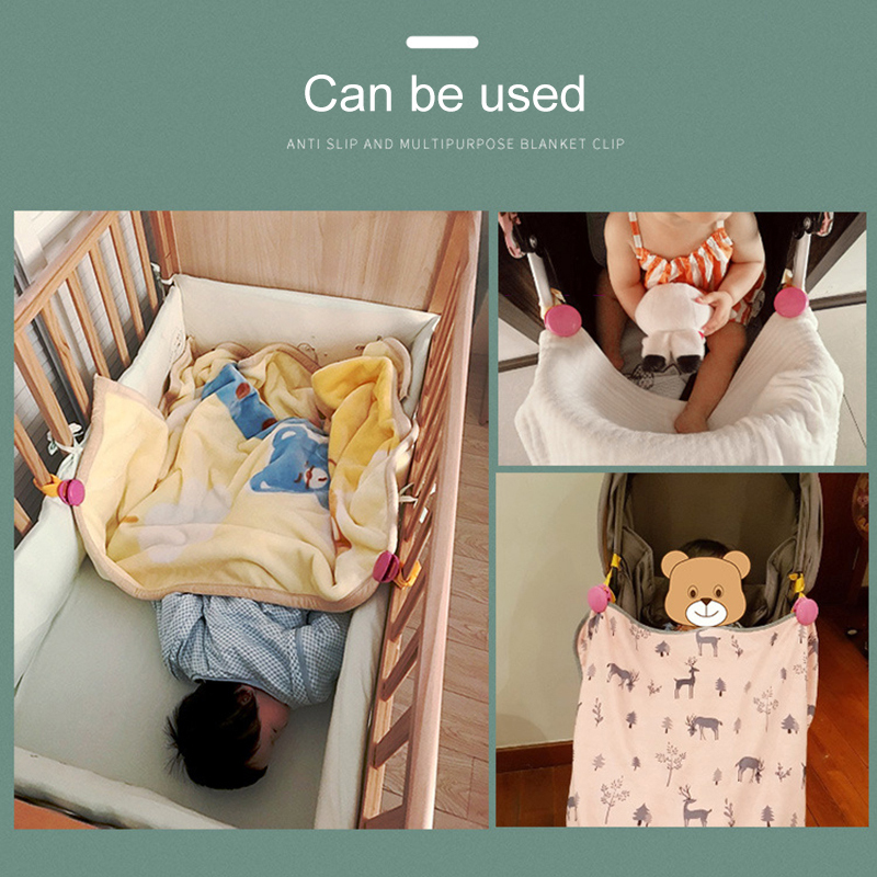 New Baby Kids Multi-function Cart Clip Baby Toy Towel Clip Baby Stroller Accessories Stroller Cover Clip Blanket Stroller Hook