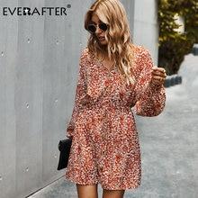 Женское платье на пуговицах everafter свободное трапеция с цветочным