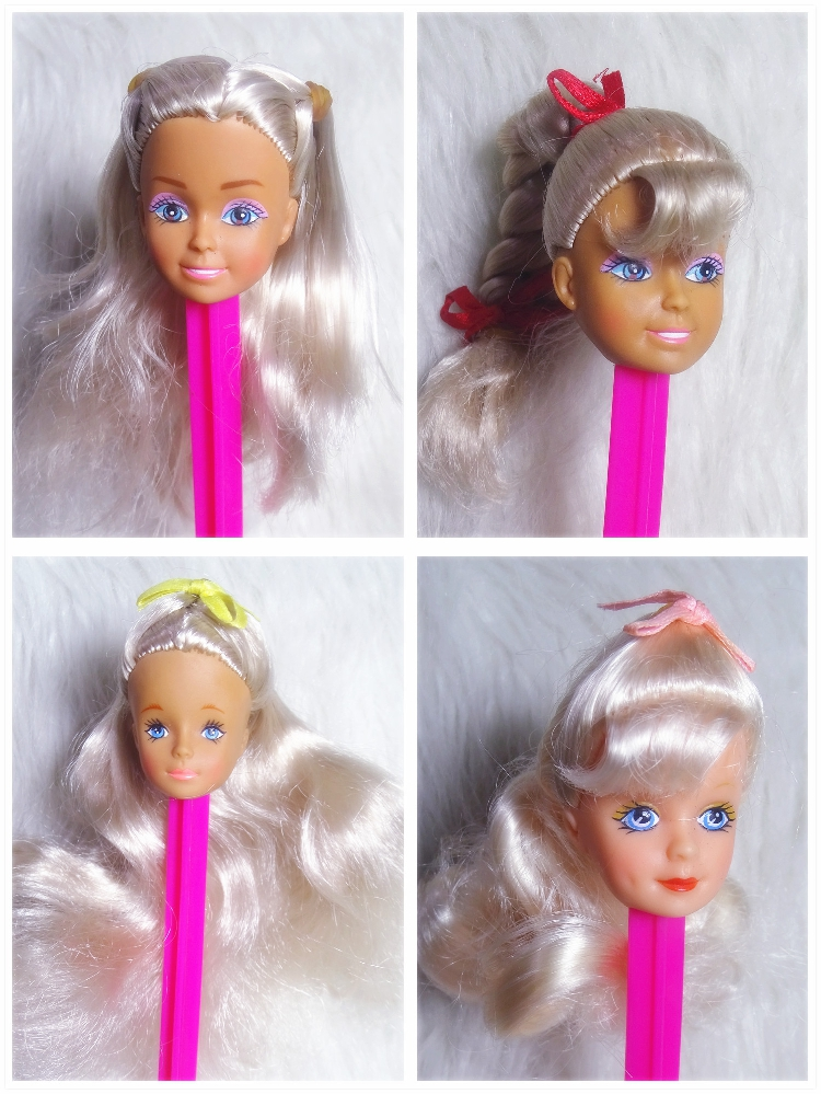 Vintage Baby Doll's Head Beautiful Girl Limited Style Doll Head For 1/6 Body Girl Toys