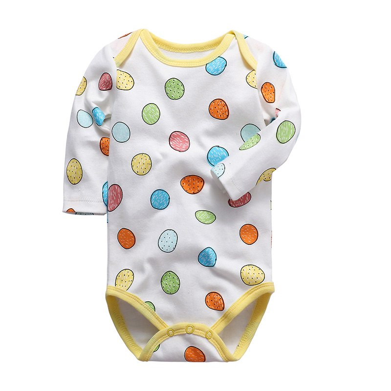 <font><b>baby</b></font> <font><b>clothing</b></font> newborn romper long sleeve lovely print 3-24 months 100% cotton infant clothes image
